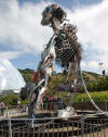 WEEE man at Eden Project