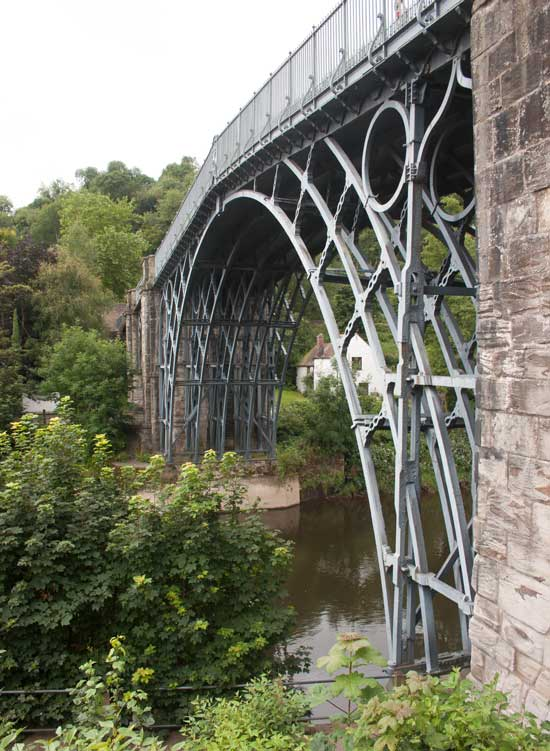 Under the iron bridge