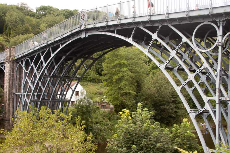 Detail of the Ironbridge