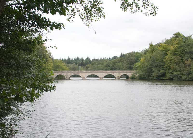 Bridge over Virginia Water lake.