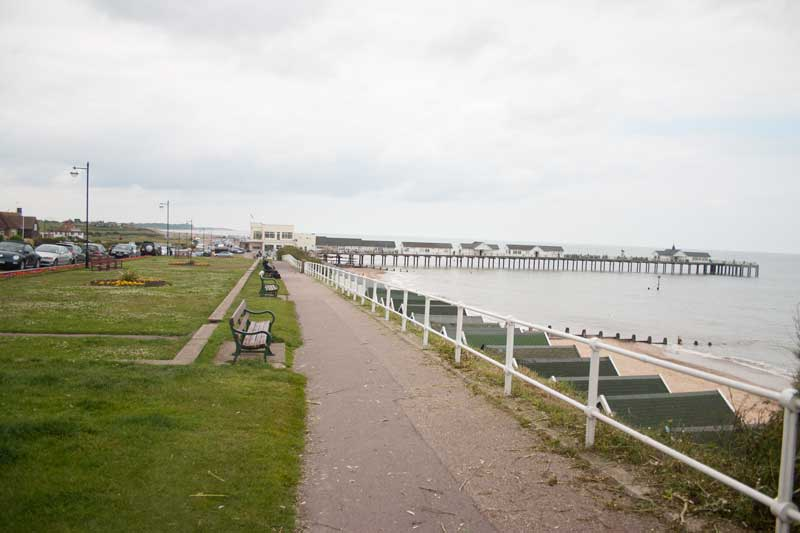 Southwold pier and beach