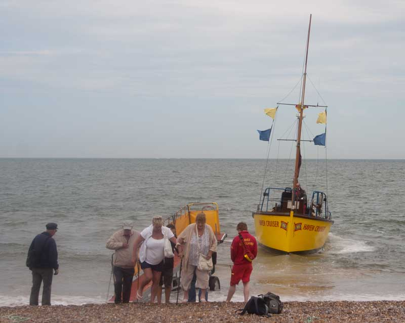 Haven Cruiser at Great Yarmouth beach.