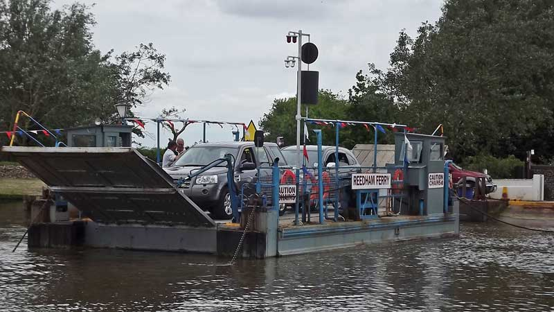 Reedham Ferry loaded