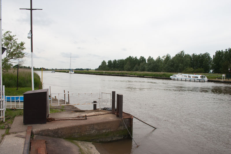River Yare at Reedham Ferry