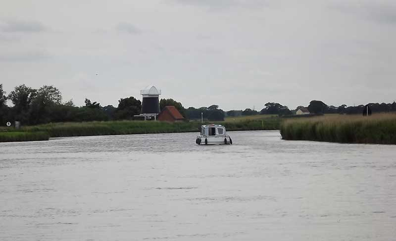 Up river from Reedham Ferry