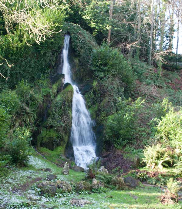 Giant Cascade waterfall at Hestercombe