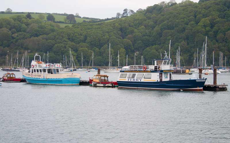 Ferries at Dartmouth