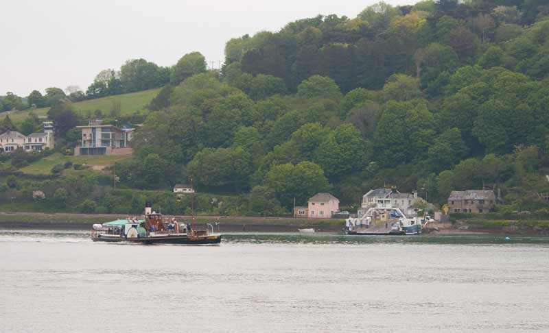 Paddle steamer Kingswear Castle at Dartmouth